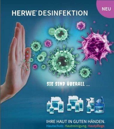 HERWE Desinfektion Produktkatalog PDF-Download